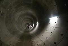 Tunnelbuis Rokin-Vijzelgracht