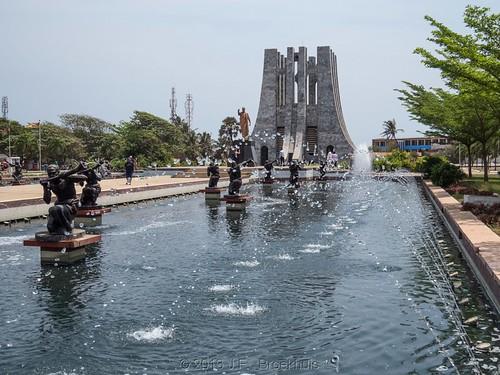 africa landscape mausoleum ghana accra kwamenkrumah kwamenkrumahmausoleum