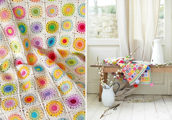 crochet pinning : cute blankets | Emma Lamb's favourites from the Makers on Pinterest 'Crochet' board