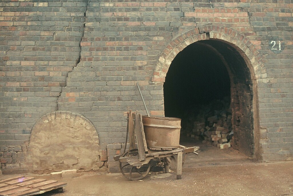 Kiln Door & Barrow, Crowle Brickworks