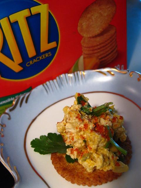 Egg Salad // Whole Wheat Ritz