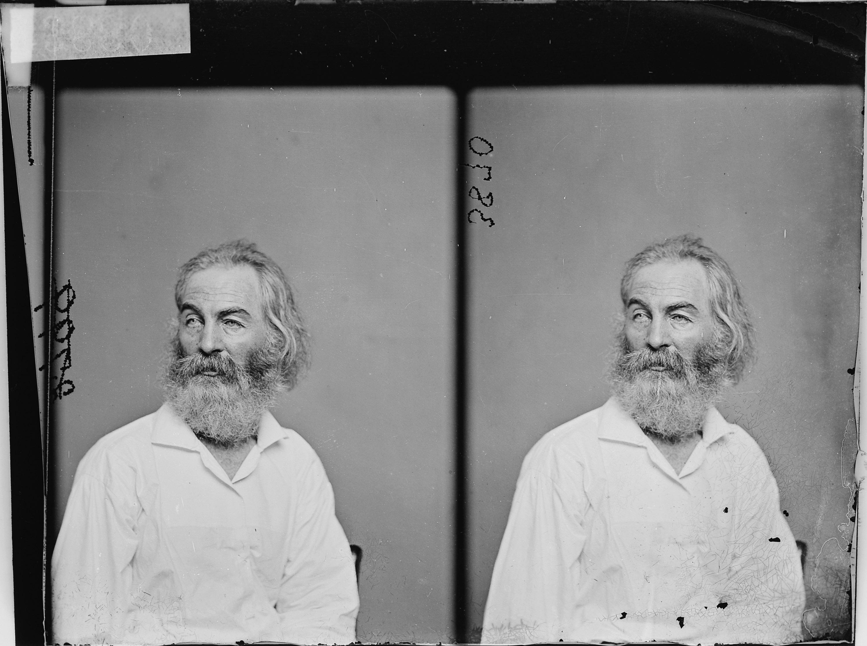 Walt Whitman, ca. 1860 - ca. 1865
