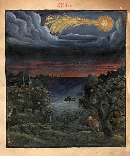 002-El cometa Miles-Kometenbuch -1587-Universitätsbibliothek Kassel