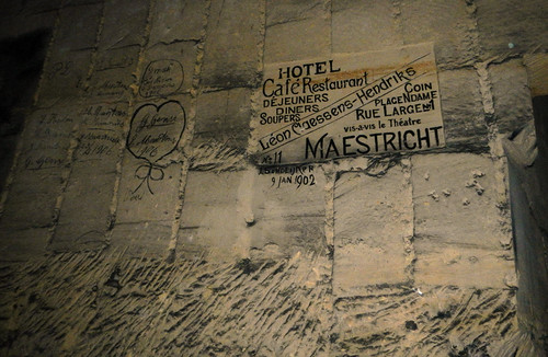 The Underground Hotel in the Maastricht Cave Tour