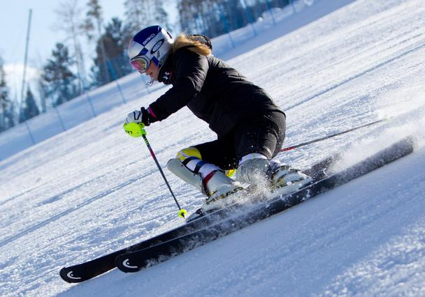 Lindsey Vonn trains at Golden Peak Vail