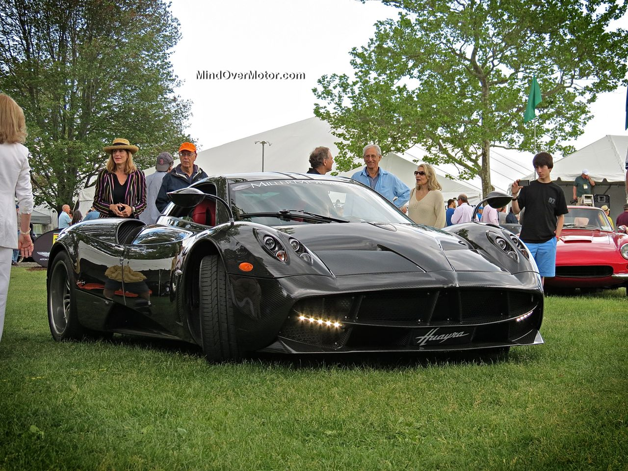 Pagani Huayra at the Greenwich Concours d'Elegance