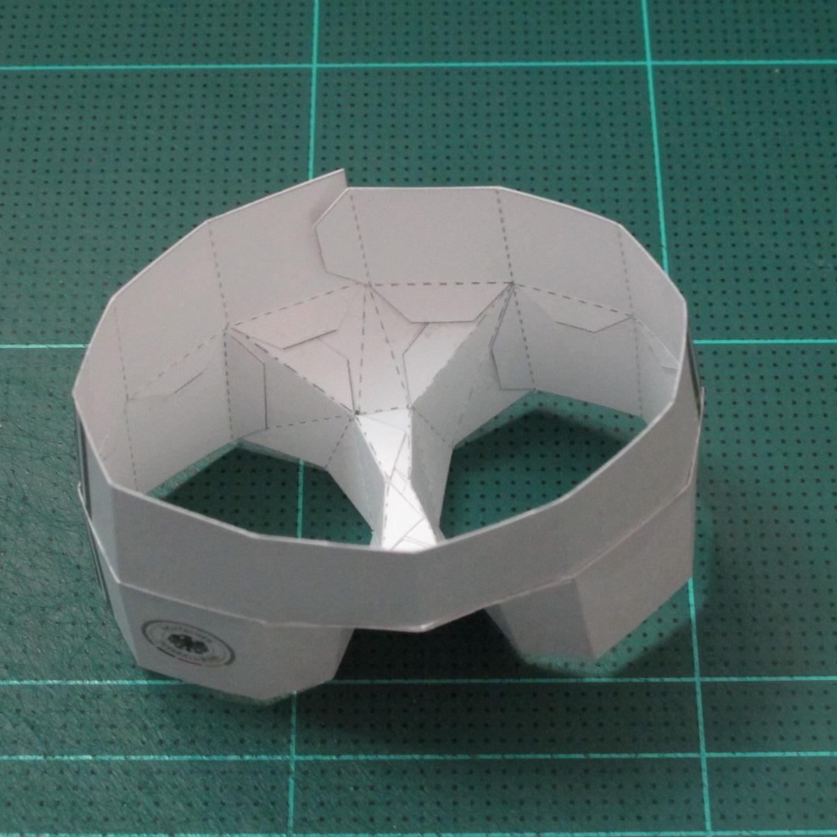 วิธีทำชุดนักบอลฟุตบอลโลก 2014 ทีมเยอร์มันสำหรับโมเดลหมีบราวน์ (FIFA World Cup  Soccer  Germany  Jersey Papercraft Model) 013