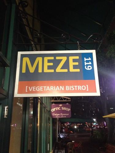 Meze 119 Signage