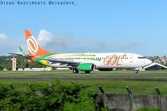 PR-GUP GOL Transportes Aéreos Boeing 737-8HX(WL) - cn 38876 / ln 4114
