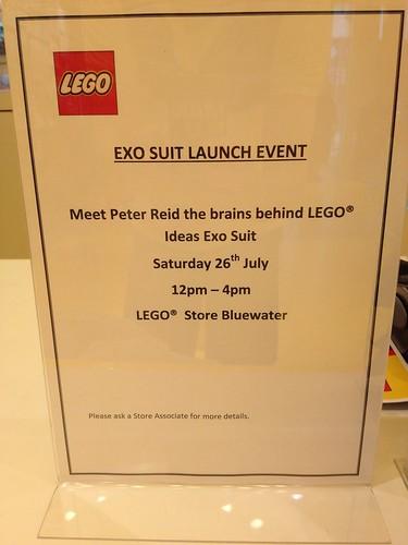 LEGO Ideas Exo Suit Launch Sign