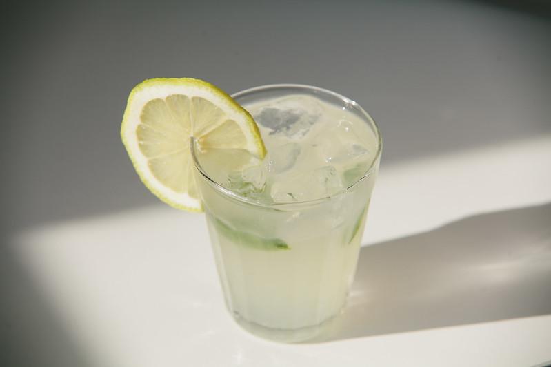 minty lemonade.
