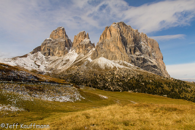 Sassolungo / Langkofel 3181m (Dolomites Oct2016)
