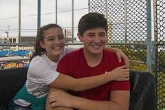 Ian and Gabi on Texas Star