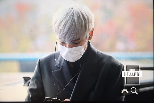 TOP Departure Seoul to Tokyo 2016-11-03 (6)
