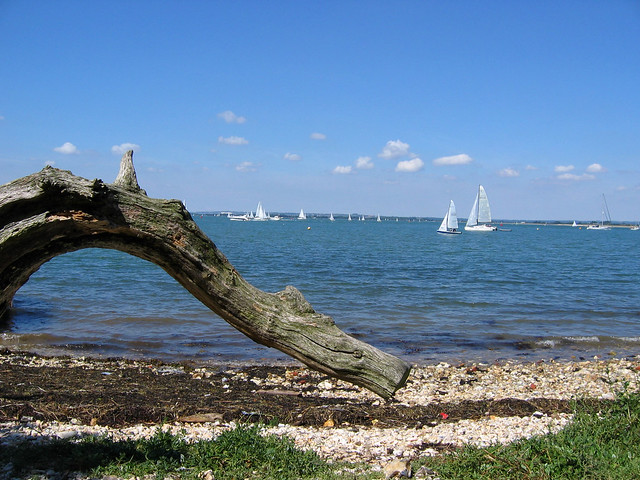 Chichester Harbour at West Wittering