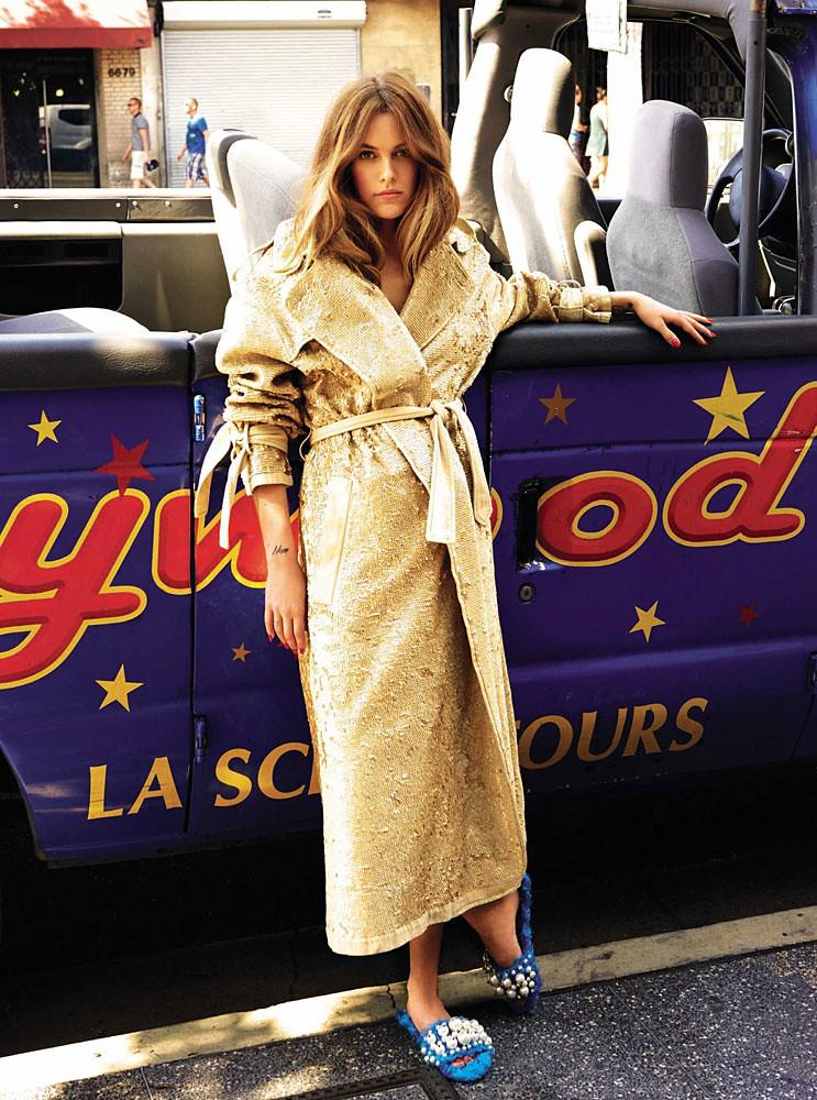 Райли Кио — Фотосессия для «Glamour» ES 2016 – 2