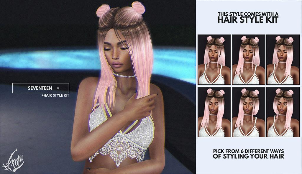 Seventeen @ Hairology - SecondLifeHub.com