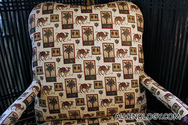 Camel motif