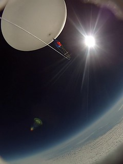 KU1 balloon at 25km altitude