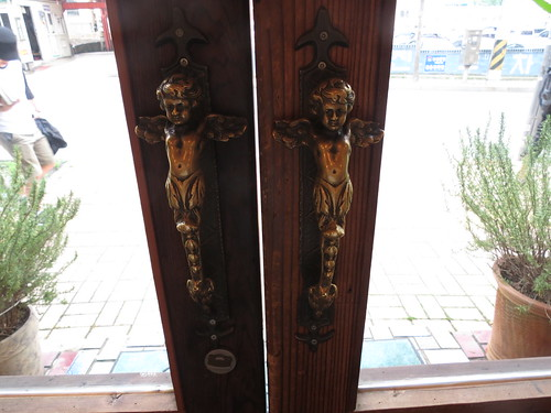 La Vie En Rose Cafe Door Handles