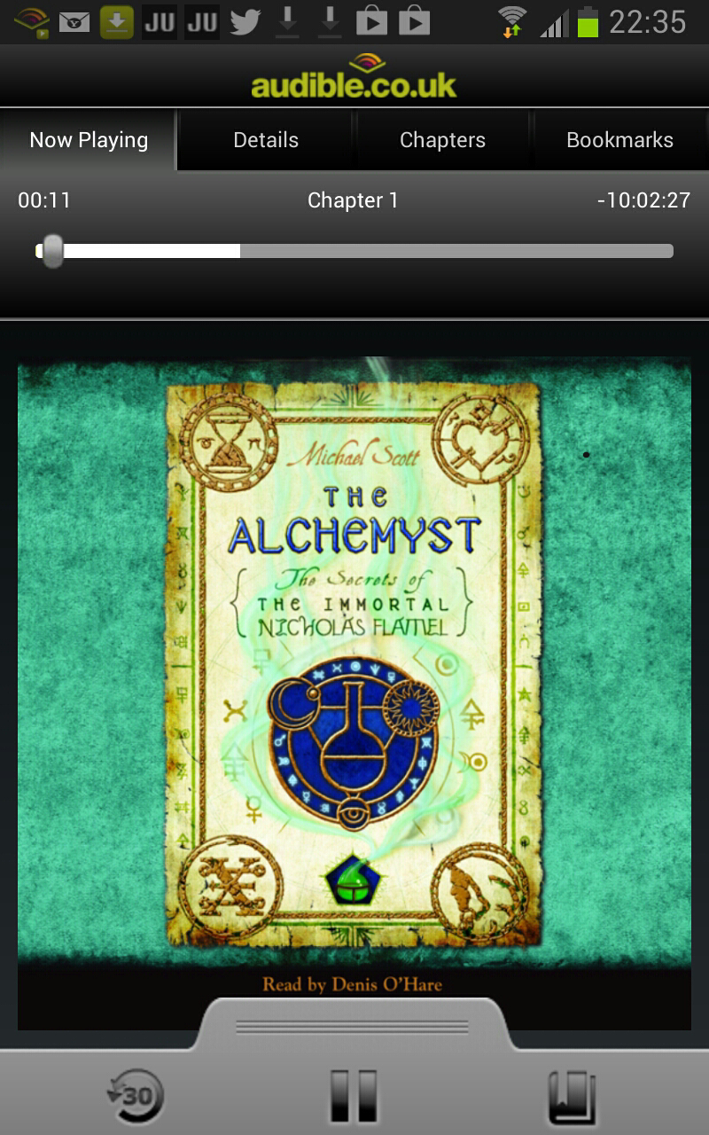 Nicholas Flamel Book 1: The Alchemyst Audiobook