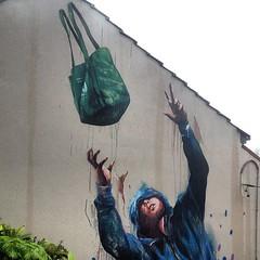Another new mural on Church St. #noki #newtownsydney #newtownoffking