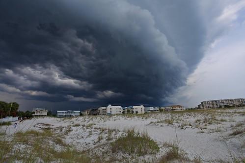 blue storm green beach water clouds day florida explore destin pensacola torquise explored