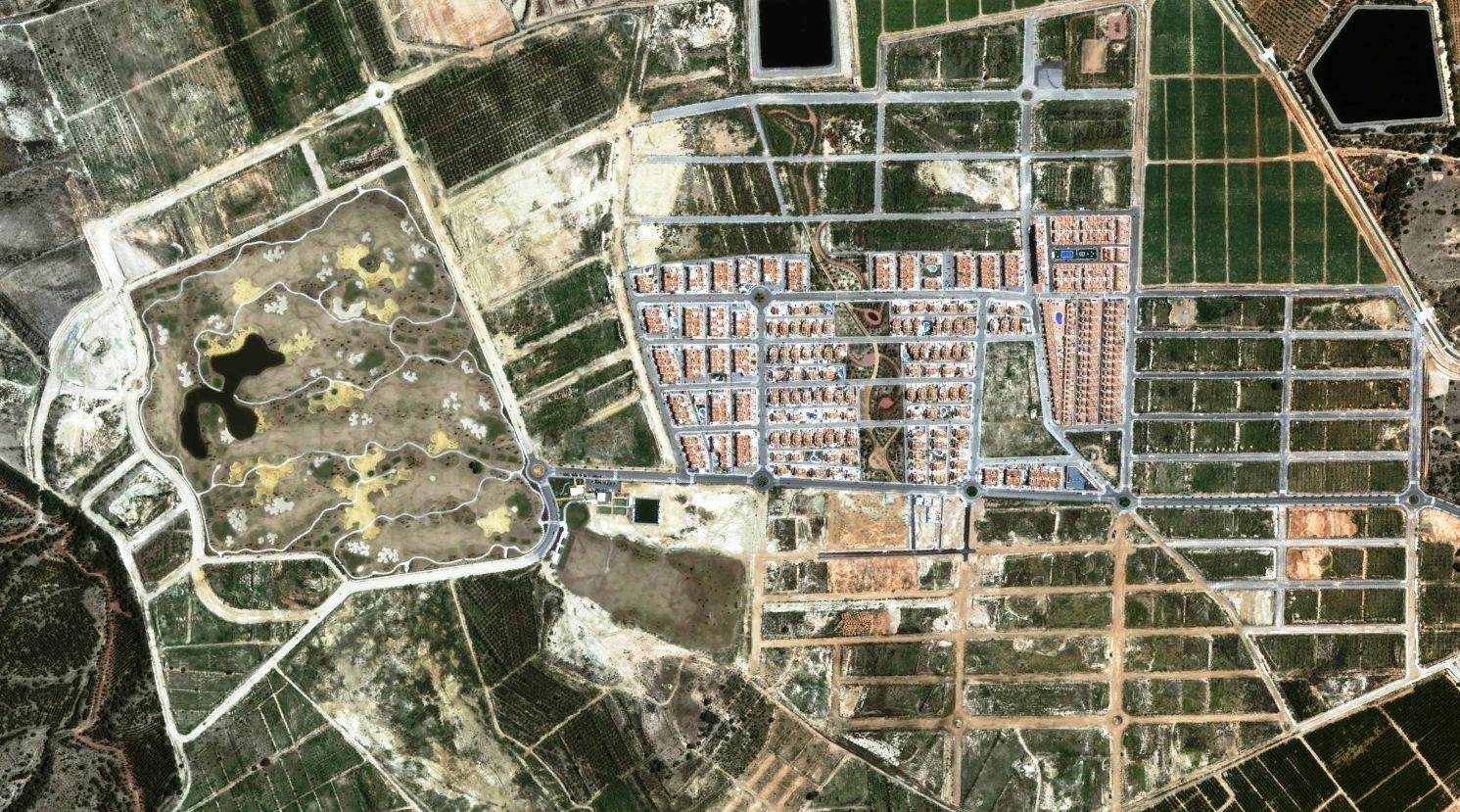después, urbanismo, foto aérea,desastre, urbanístico, planeamiento, urbano, construcción,Vistabella, Alicante