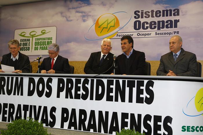 Richa destaca a importância das cooperativas no Paraná