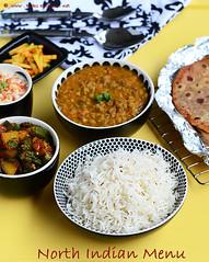jeera rice,green gram dal fry, gobi paratha
