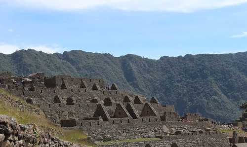Machu Picchu 2013 - buildings in profile. gonesomewhere.com