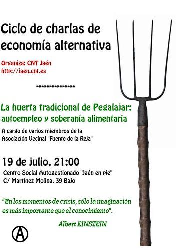 La huerta tradicional de Pegalajar: autoempleo y soberanía alimentaria