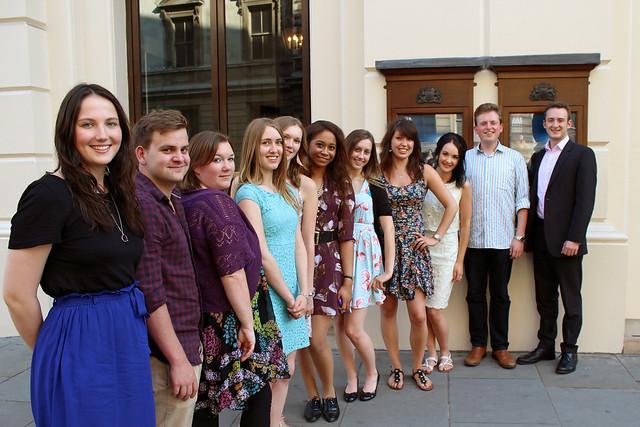 Royal Opera House Student Ambassadors 2013/14 © ROH, 2013