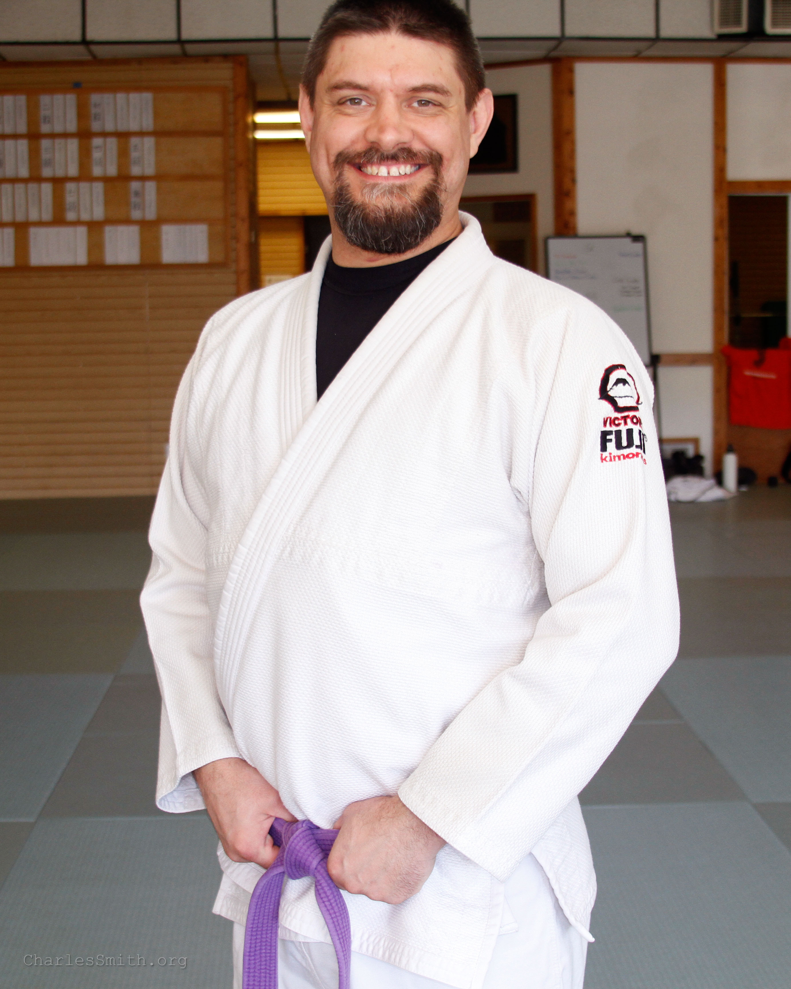 Charles Smith at the Toyoda Center