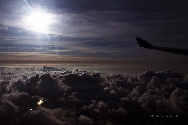 Beautiful sky & cloud from Etihad aircraft