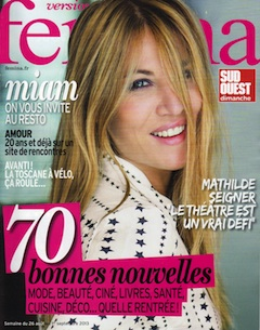 Version Femina 25 août 2013