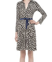 pattern, day dress, clothing, collar, abdomen, sleeve, cocktail dress, polka dot, outerwear, design, dress,