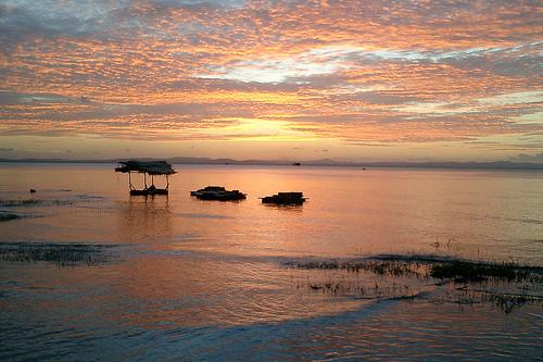 尼加拉瓜湖是中美洲最大的淡水源,也是拉丁美洲第二大湖,僅次於委內瑞拉的馬拉開波湖。(攝影:Simon & Vicki。)