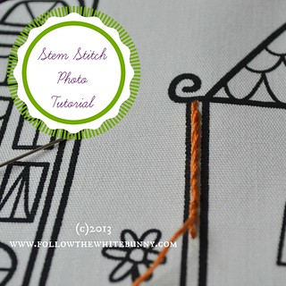 stem stitch tutorial