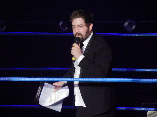 The Wrestling II @ Edfringe13: Nick Helm Hosts
