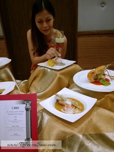 kl restaurant week 2013 - rebeccasaw blog-005