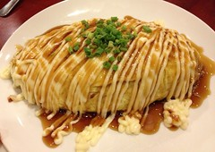 Tuna Omu Rice with Teriyaki Mayonnaise