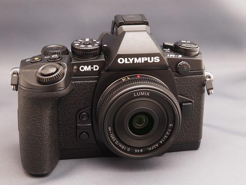 OLYMPUS OM-D E-M1 + LUMIX G 14mm F2.5 Asph.