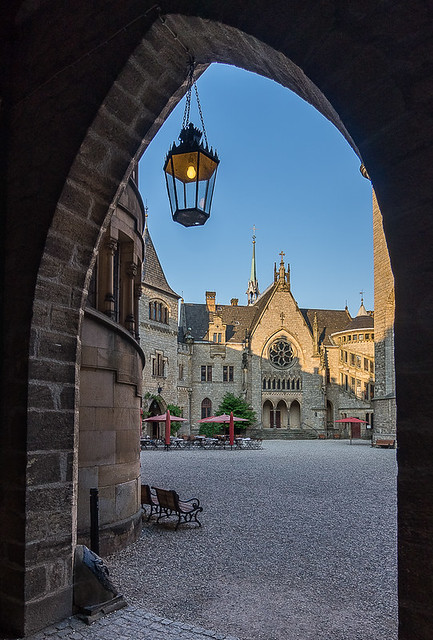 Im Schloss Marienburg