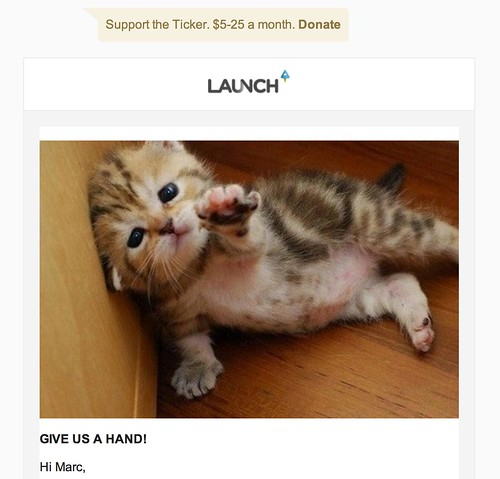 Launch Ticker goes from free to paid