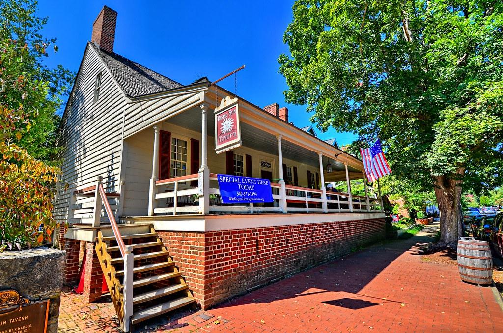 Rising Sun Tavern - Fredericksburg VA