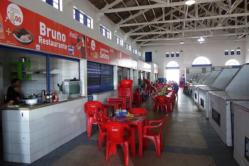 Fotografia do interior do Mercado Central de Macapá, Amapá Brasil