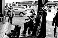 Street Musicians near Low Flying Fish