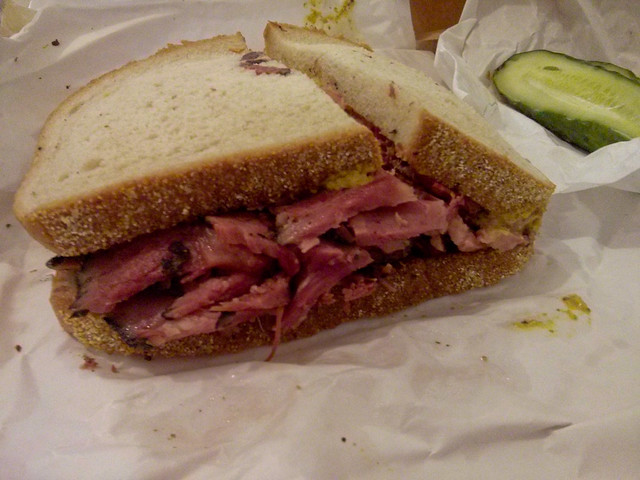 Pastrami Sandwich @ Katz's Diner | New York City, USA