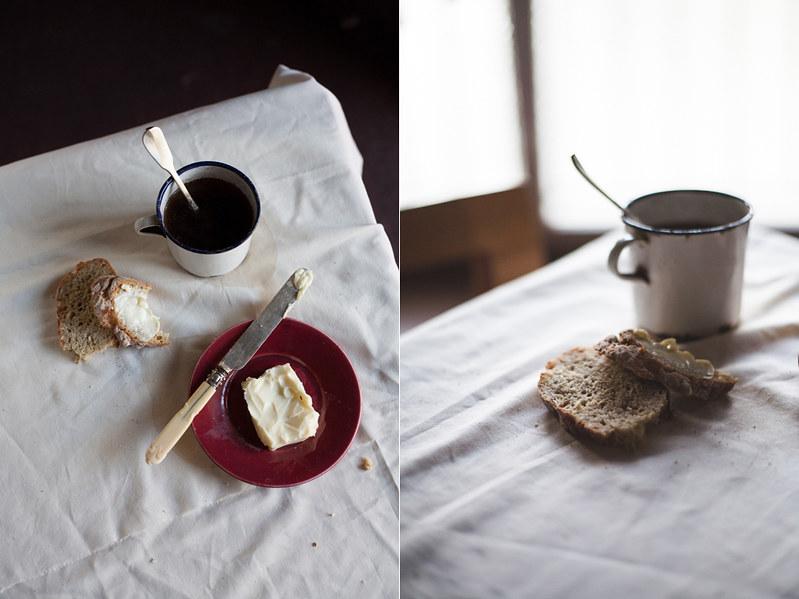 Pão de espelta e farinha de aveia